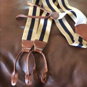 Brooks Brothers suspenders